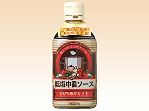 低塩中濃ソースボトル550g