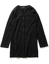 (シスキー) SHISKY キッズ M1-2 ボーイズ 無地長袖ロングカーディガン 羽織り シンプル ベーシック
