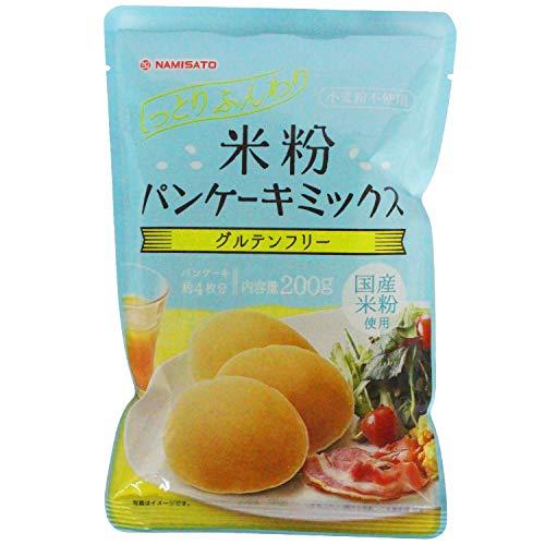 波里 米粉パンケーキミックス 200g×5袋【グルテンフリー】