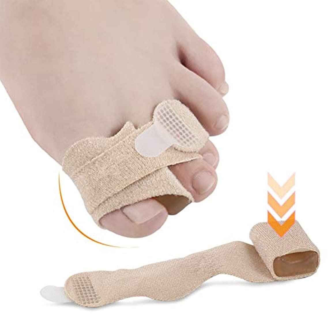 KISSION 親指外反矯正 大骨矯正ベルト つま先セパレーター つま先外反装具 つま先矯正つま先セパレーター つま先の痛みを和らげる