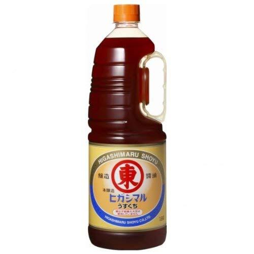 【業務用】ヒガシマル 淡口醤油 HD 1.8L【常温】