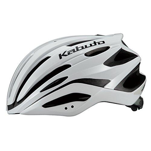 OGK KABUTO(オージーケーカブト) ヘルメット REZZA (レッツァ) パールホワイト M/L