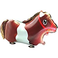 (ビグッド)Bigood ビニール玩具 景品 お散歩バルーン 風船 パーティグッズ 動物 アニマル 誕生日 クリスマス イベント 装飾 お祭り 縁日 馬