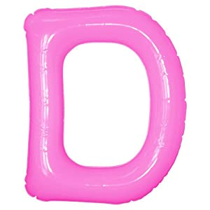 エアポップレターバルーン ピンク 「D」 14...の関連商品5