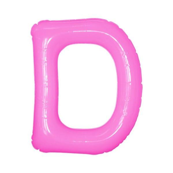エアポップレターバルーン ピンク 「D」 14イ...の商品画像