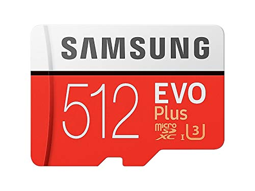 SAMSUNG microSDXC 512GB Class10 U3 4K対応 R:100MB/s W:90MB/s UHS-I EVO Plus MB-MC512GA サムスン 海外...