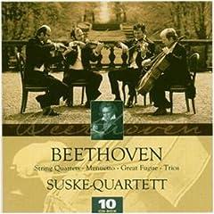 ズスケ・カルテット演奏 ベートーヴェン弦楽四重奏曲全集(10CDs)の商品写真
