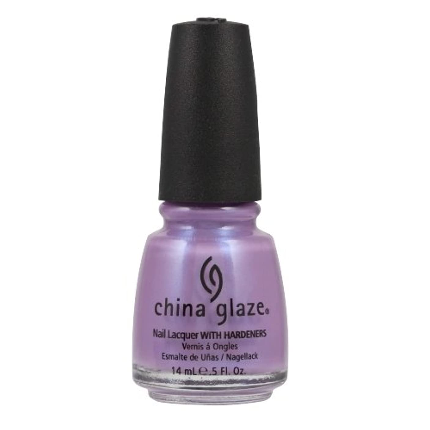 悪性形被るCHINA GLAZE Nail Lacquer with Nail Hardner - Tantalize Me (並行輸入品)