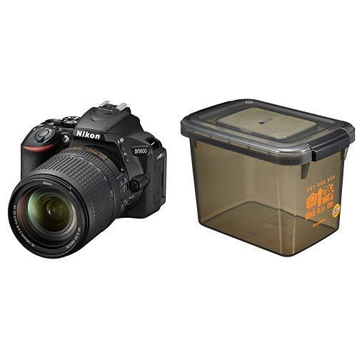 Nikon デジタル一眼レフカメラ D5600 18-140 VR レンズキット ブラック D5600LK18-140BK+HAKUBA ドライボックスNEO 9.5L スモーク 防湿庫 KMC-40