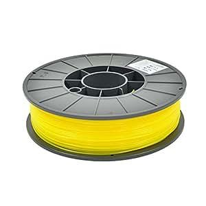 テラマック3Dプリンター用フィラメント PLA樹脂 1.75mm径 Makerbot / Reprap 3Dプリンター対応 イエロー(黄色)