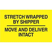 """3"""" x 5""""ストレッチ運送会社で包装移動and Deliver Intactラベル( 500per Roll )"""
