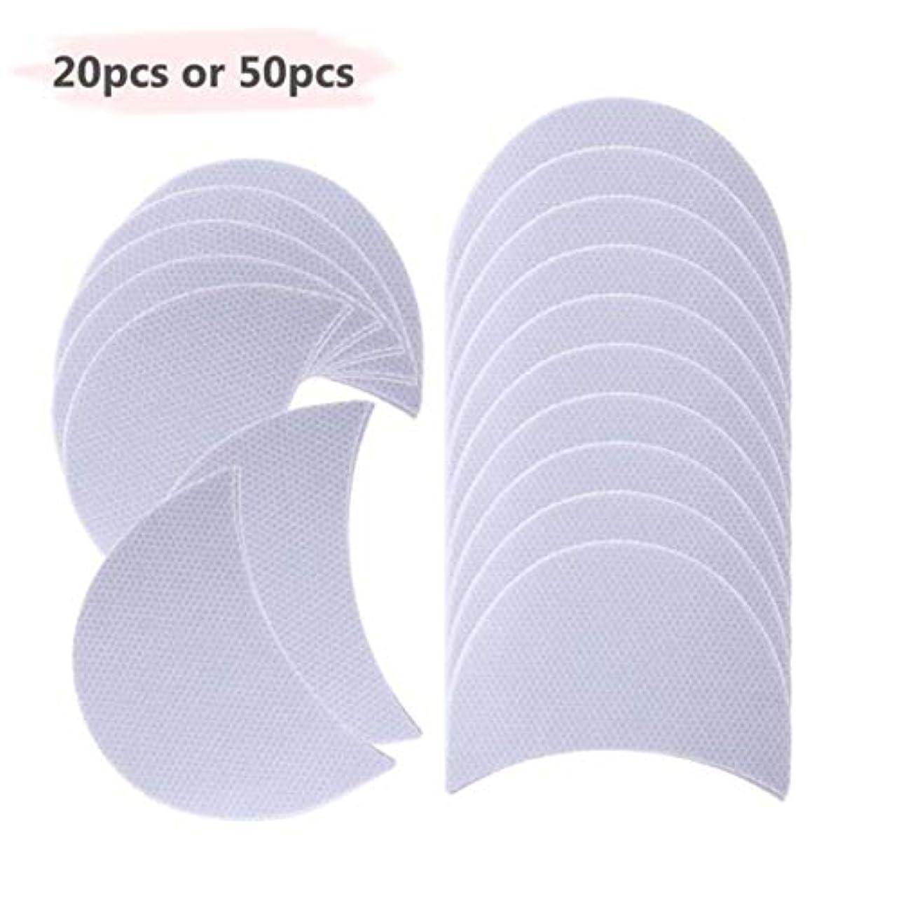 アイシャドウシールドパッチつづきパッド下翼付きアイライナーステッカー化粧品レディース化粧品アイシャドウ紙(白)