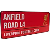 Liverpool Anfield Street Sign Red