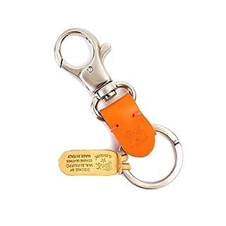 (イルビゾンテ) IL BISONTEレザーフックキーホルダー5452300150・006 F(フリー) 66(オレンジ)