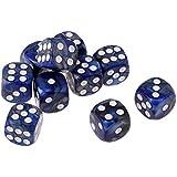 KESOTO 樹脂 6面 ダイス 骰子 賽子 テーブルゲーム用 全10選択 - #4