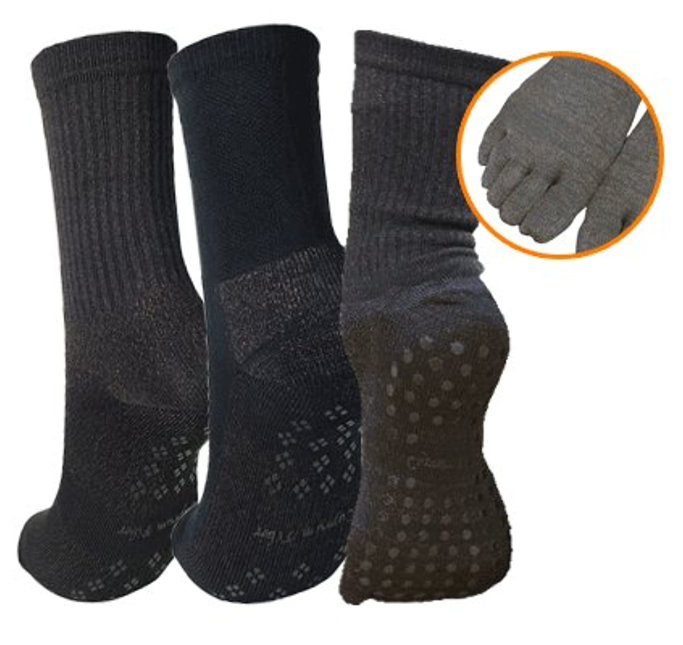 ばかげている瞬時に条件付き銅繊維靴下「足もとはいつも青春」 女性専用お得お試し3点セット 【しもやけ対策に】
