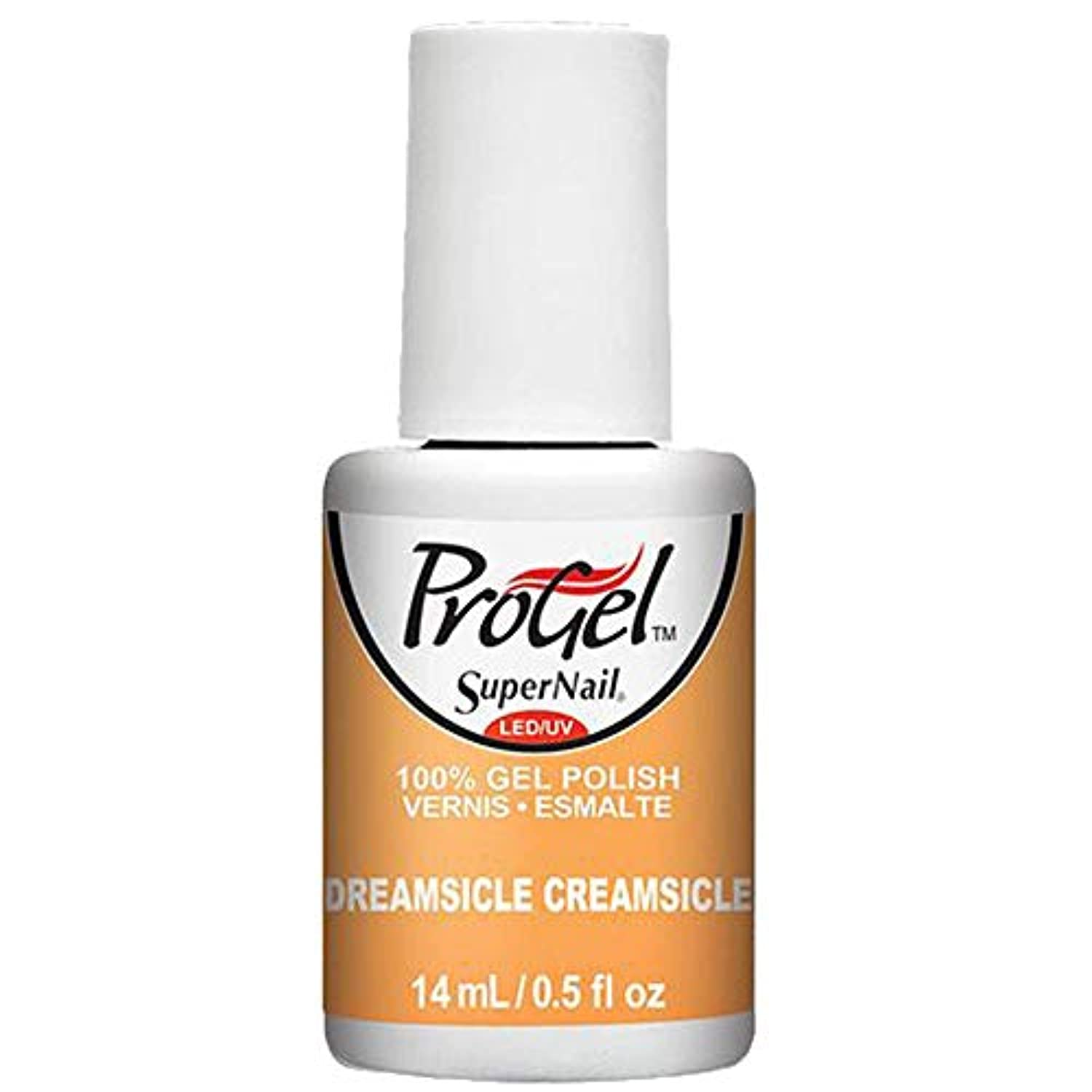 駅敬満足させるSuperNail ProGel Gel Polish - Dreamsicle Creamsicle - 0.5oz / 14ml