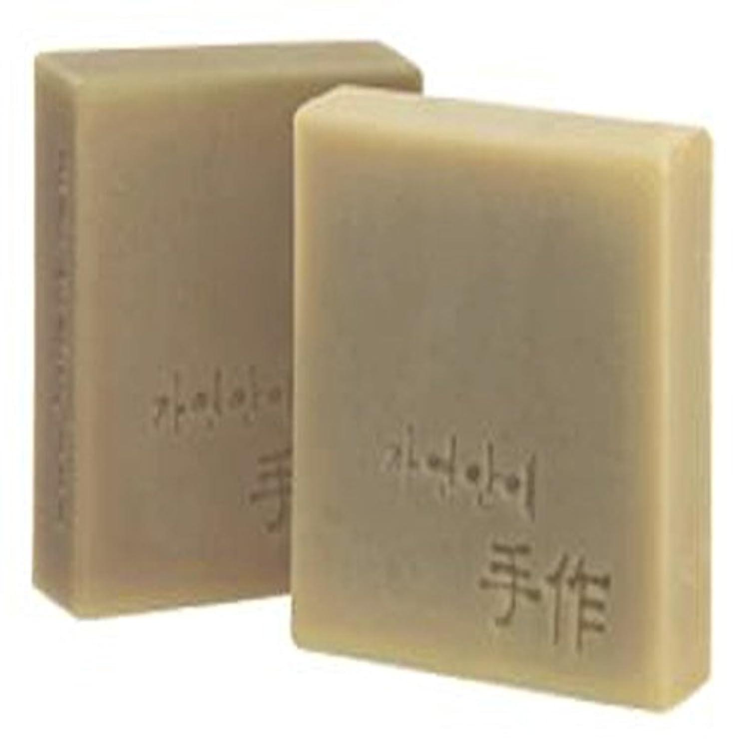現金雇用者取り囲むNatural organic 有機天然ソープ 固形 無添加 洗顔せっけん [並行輸入品] (SousAre)