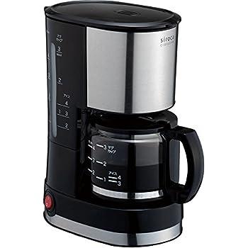 siroca ドリップ式コーヒーメーカー SCM-401[メッシュフィルター/ドリップ方式]