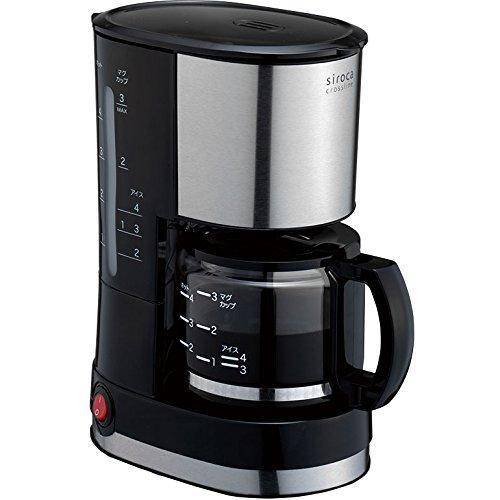 シロカ『crossline ドリップ式コーヒーメーカー SCM-401』