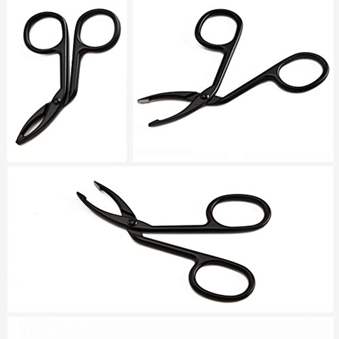 LUXWELL(ラクスウェル)眉毛ピンセットアイブロウ ピンセットクリップ 毛抜き まゆ毛ピンセット 人気の 化粧工具 クリップ