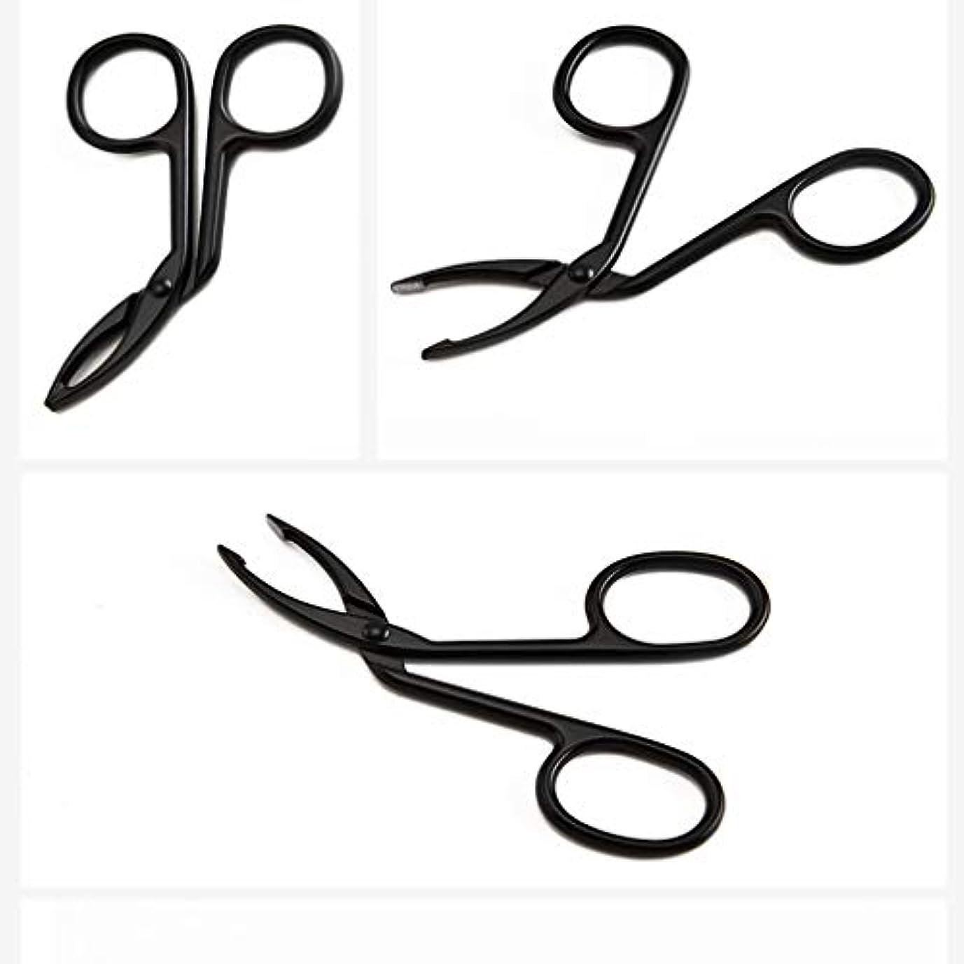 使い込む長椅子チャーミングLUXWELL(ラクスウェル)眉毛ピンセットアイブロウ ピンセットクリップ 毛抜き まゆ毛ピンセット 人気の 化粧工具 クリップ