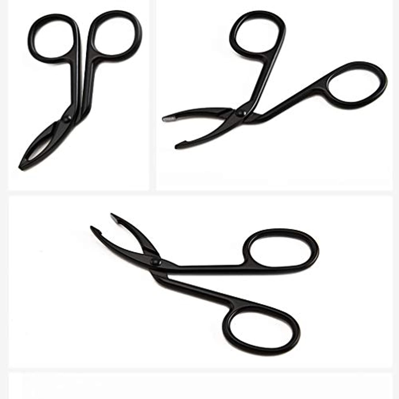 保証核事実LUXWELL(ラクスウェル)眉毛ピンセットアイブロウ ピンセットクリップ 毛抜き まゆ毛ピンセット 人気の 化粧工具 クリップ