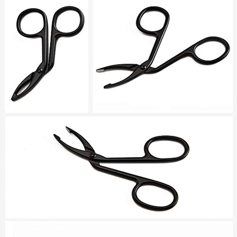 郊外マイナー相対サイズLUXWELL(ラクスウェル)眉毛ピンセットアイブロウ ピンセットクリップ 毛抜き まゆ毛ピンセット 人気の 化粧工具 クリップ