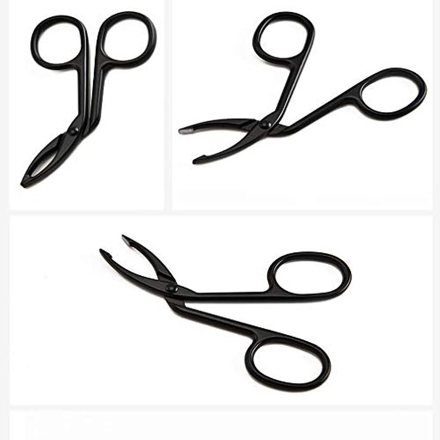 不十分転倒パイLUXWELL(ラクスウェル)眉毛ピンセットアイブロウ ピンセットクリップ 毛抜き まゆ毛ピンセット 人気の 化粧工具 クリップ