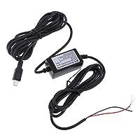 Baosity ダッシュ カム ハード ワイヤキット 12/24V 5V 1.5A ミニ USB ストライド ヘッド 電源 アダプター ケーブル