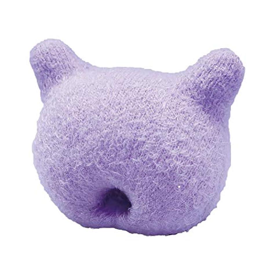 リットルワックスマーケティングふかふか手のまくら(猫型) ばね指 関節 しびれ 脳トレ 老人 ストレッチ リラックス