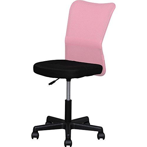 オフィスチェア メッシュバックチェア ピンク...