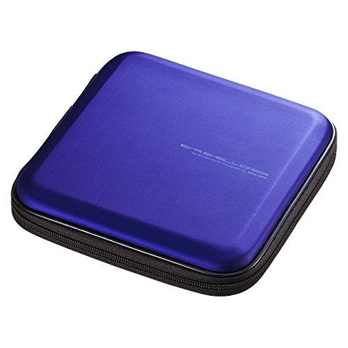 サンワサプライ ブルーレイディスク対応セミハードケース 12枚収納 ブルー FCD-WLBD12BL