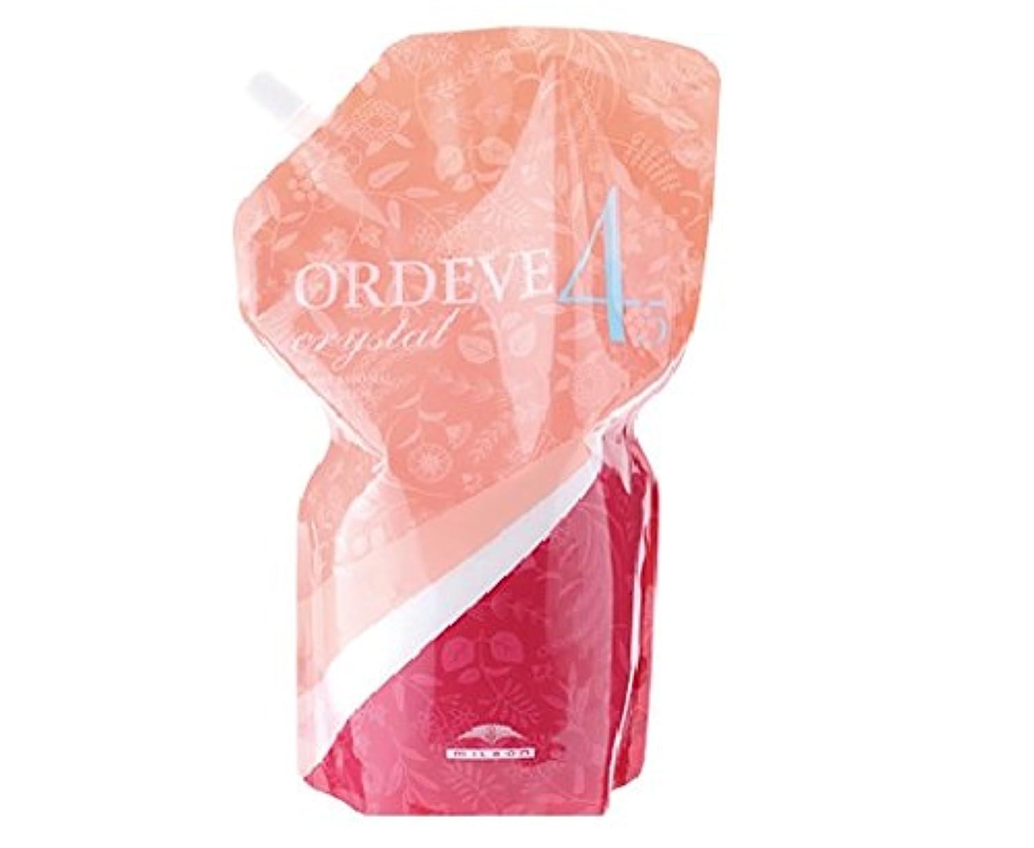 メドレー屋内スーツORDEVE crystal(オルディーブ クリスタル) 第2剤 OX(オキシダン) 4.5% 1000ml