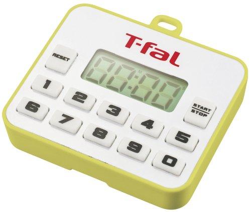 T-fal キッチンタイマー 「プティ」 グリーンイエロー K02901