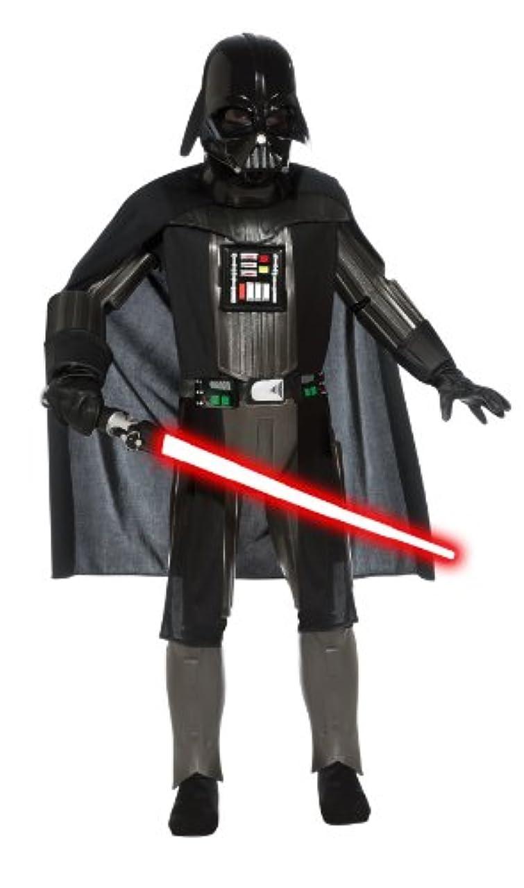 に勝る立ち向かう統計Star Wars Darth Vader Elite Child Costume スターウォーズダース?ベイダーエリートチャイルドコスチューム?ハロウィン?サイズ:Large (12-14)