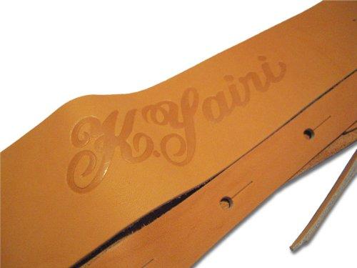 K.Yairi KYS-2800/60mm GBR Kヤイリ レザーストラップ