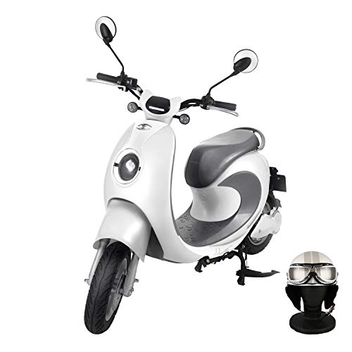 【Amazon.co.jp限定】 電動バイク XEAM notte V2 パールホワイト【限定特典】 専用ヘルメット パールホワイト XM-AZNPWHHGPWH