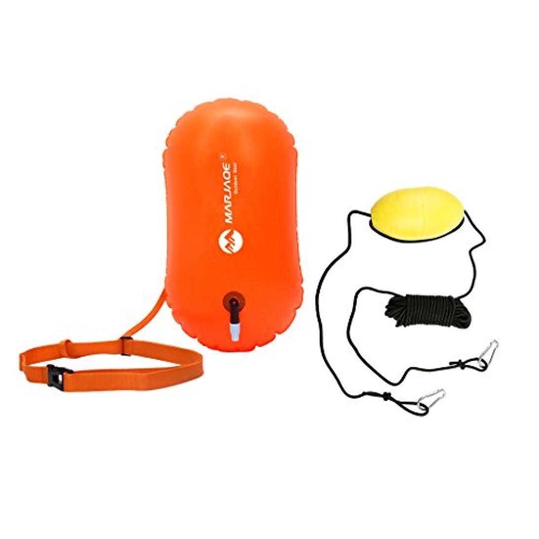 入植者変位傷つけるHomyl 30フィート カヤック ドリフト アンカー トウロープ トウライン スローライン スイミング バッグ ブイ