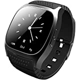 M26 Bluetooth Android Smart watch LED Light Display Watch with Dial / Call Answer / SMS Reminding / Music Player / Anti-lost / Passometer / Thermometer for Samsung / HTC