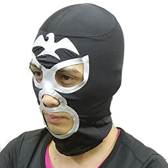仮面ライダー ショッカー マスク コスチューム用小物 黒 男女共用 フリーサイズ