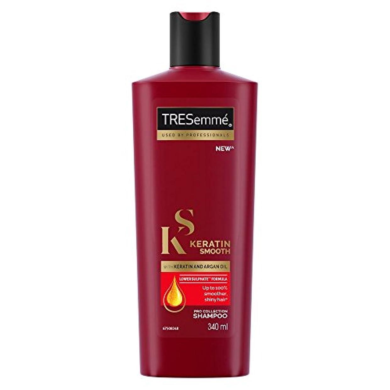 勇者栄光平方TRESemme Keratin Smooth Shampoo, 340ml (TRESemmeケラチンスムースシャンプー、340ml)