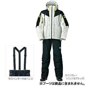 ダイワ(Daiwa) ゴアテックス プロダクツ コンビアップレインスーツ DR-1504 ライトグレー M