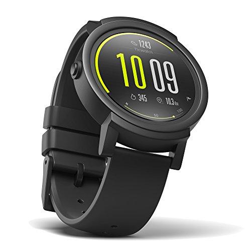 Ticwatch E スマートウォッチ 最快適 Smartwatch 1.4インチOLEDスクリーン Android Wear 2.0 Googleアシスタント搭载 iPhone/Android対応 E ブラック
