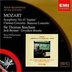 Sym 41: Jupiter / Clarinet & Bassoon Ctos