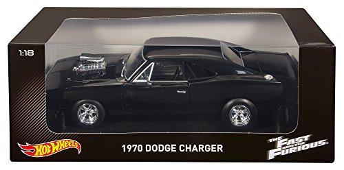 Hot Wheels ワイルドスピード ダッジ チャージャー 1970 1/18 ブラック CMC97
