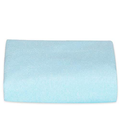 kerätä 防水 おねしょシーツ セミダブル 120×200cm ふわふわ生地で朝まで快適 選べる3色 (ブルー)