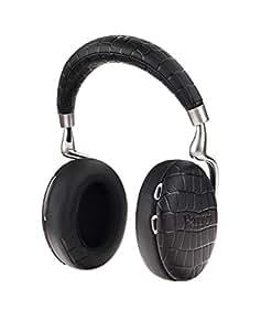 【国内正規品/Amazon.co.jp限定】Parrot Zik3 with Charger 密閉型ワイヤレスヘッドホン ノイズキャンセリング Bluetooth NFC Qi ワイヤレス充電器付き Apple Watch対応 Black Crocodile PF562130