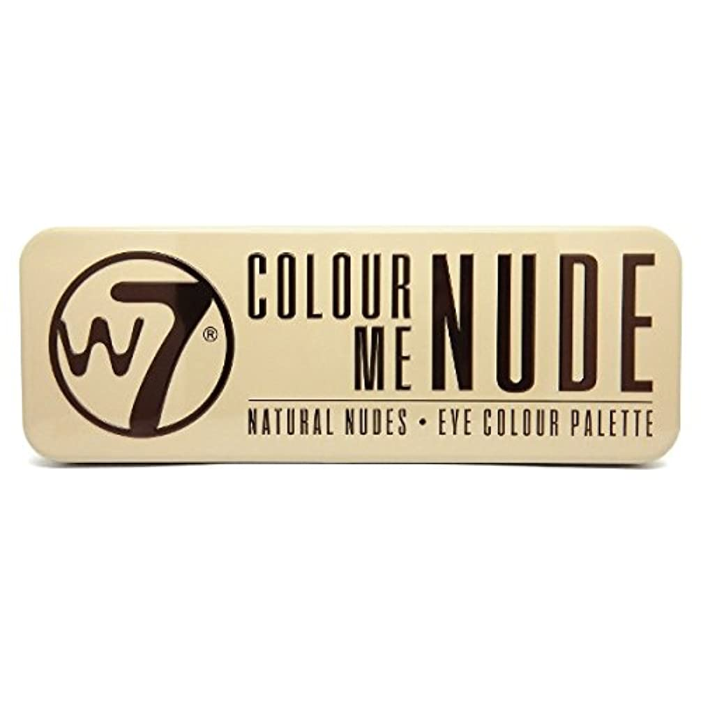 ジャングルペルセウスアパルW7 Colour Me Nude Natural Nudes Eye Colour Palette (並行輸入品)