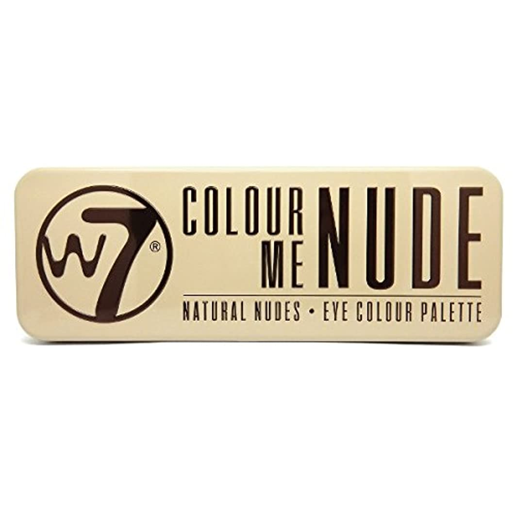 学者勤勉後W7 Colour Me Nude Natural Nudes Eye Colour Palette (並行輸入品)